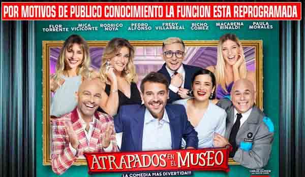 ATRAPADOS EN EL MUSEO