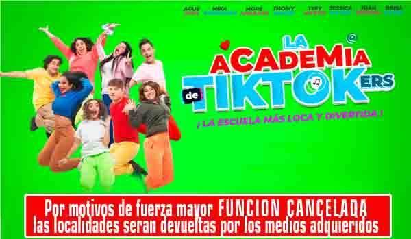ACADEMIA DE TIKTOKers.