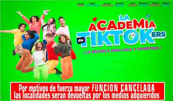 ACADEMIA DE TIKTOKERS Myg.